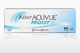 Kontaktlēcas Johnson & Johnson 1 DAY ACUVUE MOIST 1DM-90P-REV