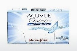 Kontaktlēcas Johnson & Johnson ACUVUE ADVANCE for ASTIGMATISM AGT-6P-REV