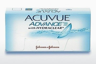 Kontaktlēcas Johnson & Johnson ACUVUE ADVANCE with HYDRACLEAR AVG-6P-REV