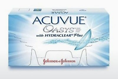 Kontaktlēcas Johnson & Johnson ACUVUE OASYS with HYDRACLEAR Plus PH-12P-REV
