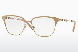 Brilles Burberry BE1313Q 1236 - Balta, Zelta