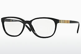 Brilles Burberry BE2172 3001 - Melna
