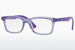 Brilles Ray-Ban Junior RY1562 3688 - Caurspīdīga, Purpursarkana