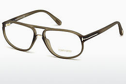 Brilles Tom Ford FT5296 046 - Brūna, Bright, Matt