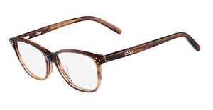 Chloé CE3601 282 STRIPED BROWN