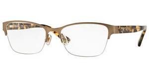 DKNY DY5653 1227 SATIN LIGHT GOLD/VINTAGE TORT