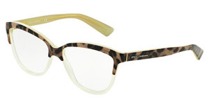 Dolce & Gabbana DG3229 2950 TOP ANIMALIER ON LIME
