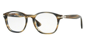 Persol PO3122V 1049 STRIPED BROWN GREY