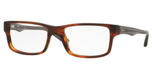 Ray-Ban RX5245 5607 STRIPED HAVANA