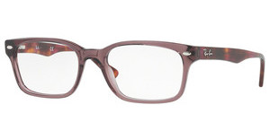 Ray-Ban RX5286 5628 SHINY OPAL BROWN
