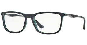 Ray-Ban RX7029 5197 BLACK TOP ON GREEN