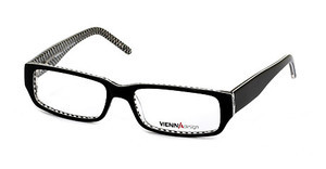 Vienna Design UN371 02 x'tal black-white pattern