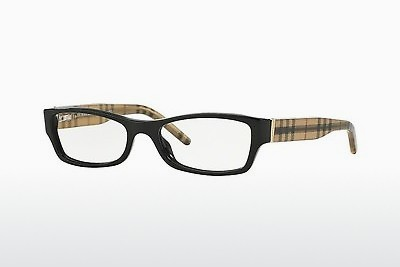 Brilles Burberry BE2094 3001 - Melna