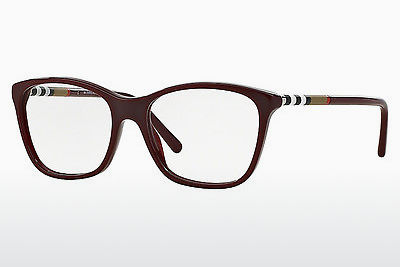 Brilles Burberry BE2141 3403 - Sarkana, Bordeaux