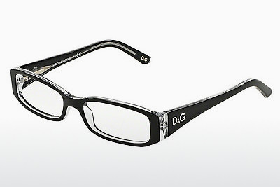Brilles D&G INSTITUTIONAL LOGO (DD1179 675) - Melna