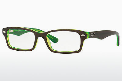 Brilles Ray-Ban Junior RY1530 3665 - Brūna, Zaļa
