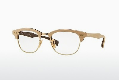 Brilles Ray-Ban CLUBMASTER (RX5154M 5558) - Brūna, Maple