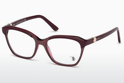 Brilles Tod's TO5163 069 - Burgundijas vīna, Bordeaux, Shiny