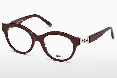 Brilles Tod's TO5173 069 - Burgundijas vīna, Bordeaux, Shiny