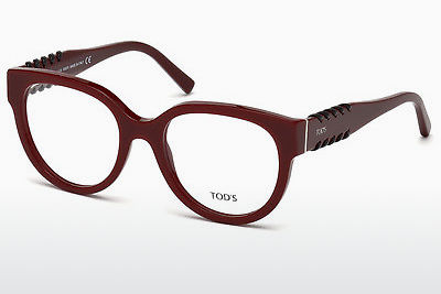 Brilles Tod's TO5175 069 - Burgundijas vīna, Bordeaux, Shiny