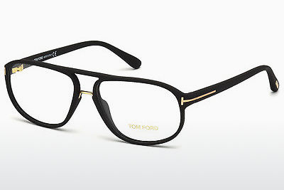 Brilles Tom Ford FT5296 002 - Melna, Matt