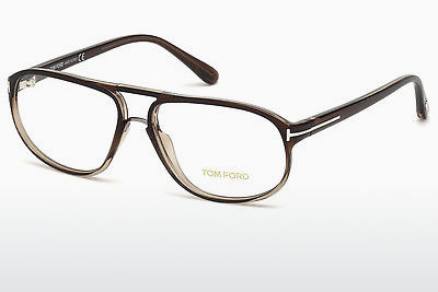Brilles Tom Ford FT5296 050 - Brūna, Dark