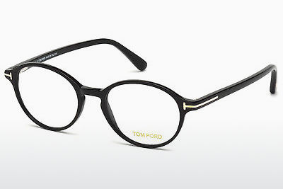 Brilles Tom Ford FT5305 001 - Melna, Shiny