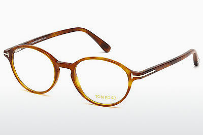 Brilles Tom Ford FT5305 053 - Havannas brūna, Yellow, Blond, Brown