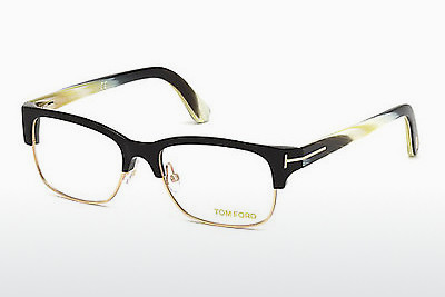 Brilles Tom Ford FT5307 001 - Melna, Shiny