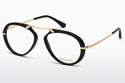 Brilles Tom Ford FT5346 001 - Melna, Shiny