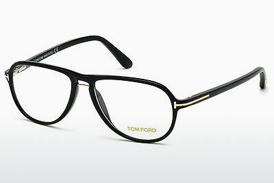 Brilles Tom Ford FT5380 001 - Melna, Shiny