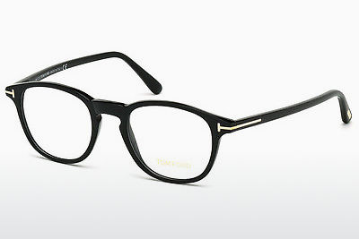 Brilles Tom Ford FT5389 001 - Melna, Shiny