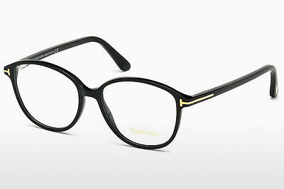 Brilles Tom Ford FT5390 001 - Melna, Shiny