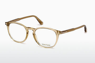 Brilles Tom Ford FT5401 045 - Brūna, Shiny