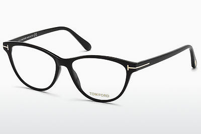 Brilles Tom Ford FT5402 001 - Melna, Shiny