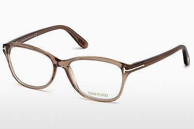 Brilles Tom Ford FT5404 048 - Brūna, Dark, Shiny