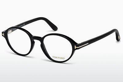 Brilles Tom Ford FT5409 001 - Melna, Shiny