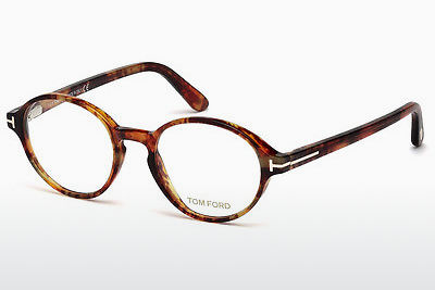 Brilles Tom Ford FT5409 053 - Havannas brūna, Yellow, Blond, Brown