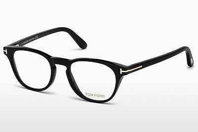Brilles Tom Ford FT5410 001 - Melna, Shiny