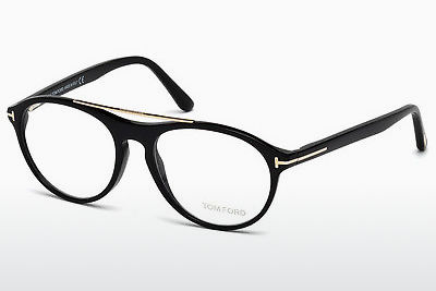 Brilles Tom Ford FT5411 001 - Melna, Shiny