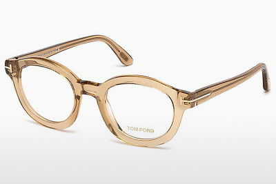 Brilles Tom Ford FT5460 045 - Brūna, Shiny