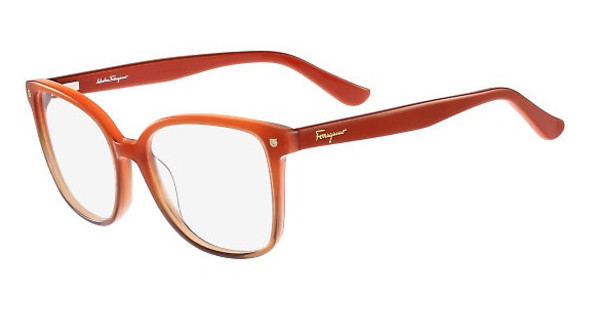 Salvatore Ferragamo SF2732 632 GRADIENT CORAL BROWN