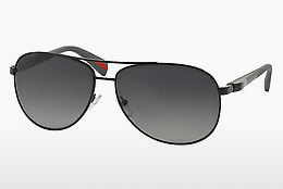Saulesbrilles Prada Sport NETEX COLLECTION (PS 51OS 7AX5W1) - Melna