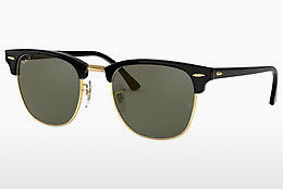 Saulesbrilles Ray-Ban CLUBMASTER (RB3016 901/58) - Melna