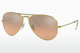 Saulesbrilles Ray-Ban AVIATOR LARGE METAL (RB3025 001/3E) - Zelta