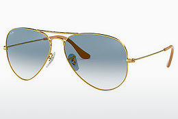 Saulesbrilles Ray-Ban AVIATOR LARGE METAL (RB3025 001/3F) - Zelta