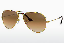 Saulesbrilles Ray-Ban AVIATOR LARGE METAL (RB3025 001/51) - Zelta