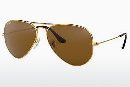 Saulesbrilles Ray-Ban AVIATOR LARGE METAL (RB3025 001/57) - Zelta