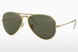 Saulesbrilles Ray-Ban AVIATOR LARGE METAL (RB3025 001/58) - Zelta