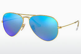 Saulesbrilles Ray-Ban AVIATOR LARGE METAL (RB3025 112/4L) - Zelta